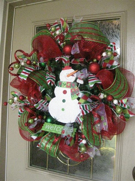 christmas wreath kristen s creations christmas mesh wreath tutorial