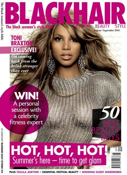 Hairstyles Magazine Website by Blackhair Magazine Cover Hairstyle 2013