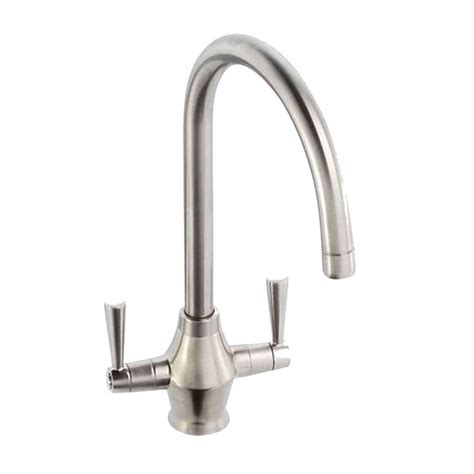 kitchen sinks with taps abode astral brushed nickel tap at1157 kitchen sinks taps