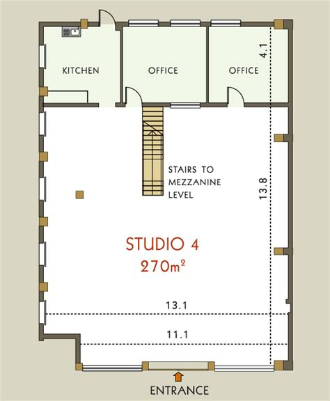 studio floor plan atlas studios studio 4