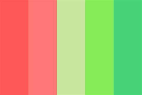 what color is watermelon watermelon spritz color palette