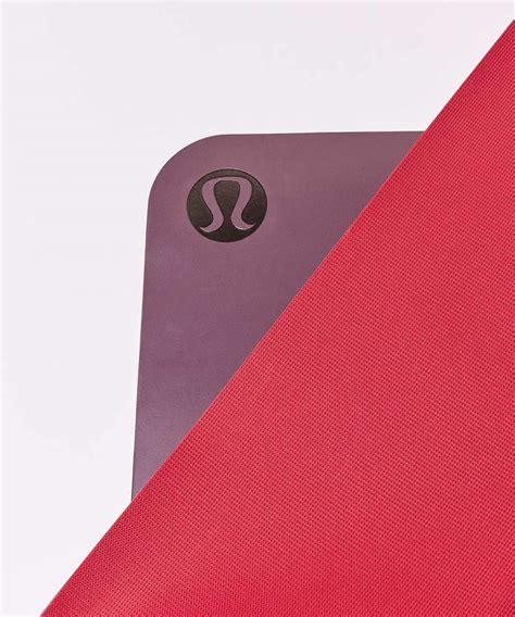 Lululemon The Mat Colors by Lululemon The Reversible Mat 3mm Adobe Ruby