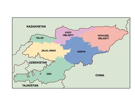 kyrgyzstan map kyrgyzstan presentation map our cartographers made kyrgyzstan presentation map as digital