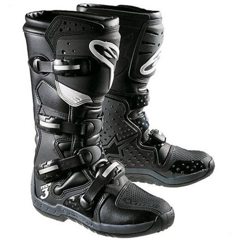 Sepatu Cross Alpinestar Tech 3 cross enduro motorcycle boots alpinestar tech 3 black