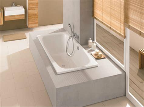 dänisches bette vasca da bagno in acciaio smaltato da incasso bettesteel