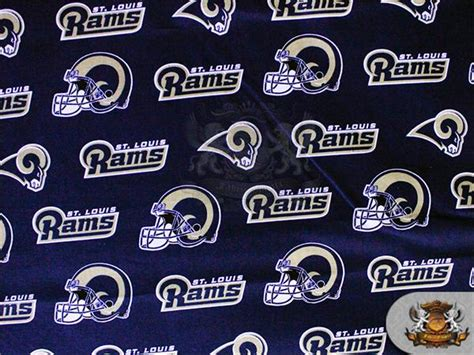 Upholstery Fabric St Louis by 100 Cotton Quilt Prints 17 St Louis Rams Logo Fabrics 60