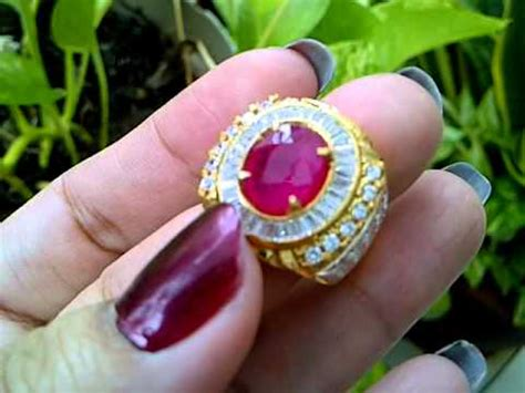 Cincin Ruby Madagaskar 6 100 Hq cincin batu ruby madagaskar code 2247