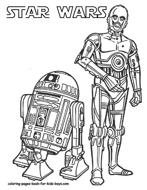 printable pictures star wars r2d2 and c3po coloring pages pinterest coloring