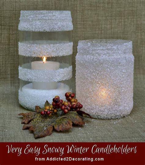 vasi di vetro decorati vasi di vetro decorati con neve artificiale proyectos