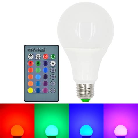 color changing led lights for home mengsled mengs 174 e27 10w led rgb globe light 16 colors
