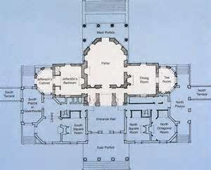 jeffersons monticello floor plan images