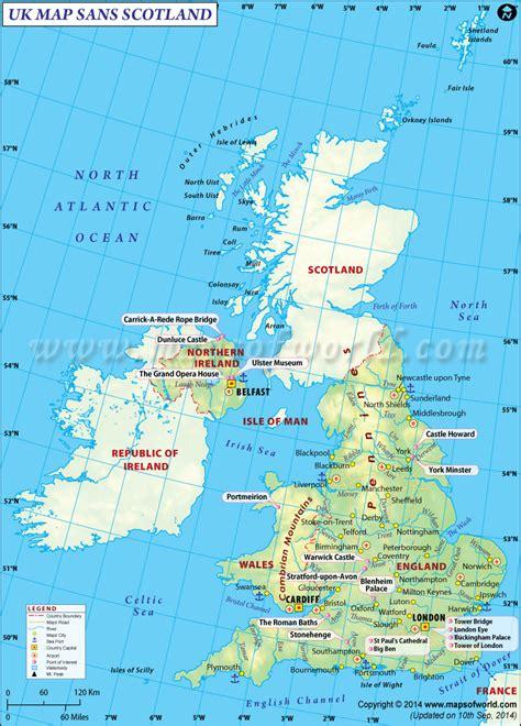 map uk scotland scottish independence referendum find uk map without