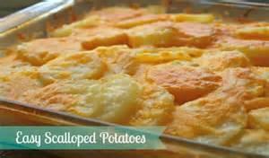 easy scalloped potatoes recipe dishmaps