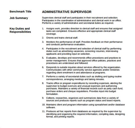 Resume Words Supervise Supervisor Resume 12 Free Documents In Pdf Word