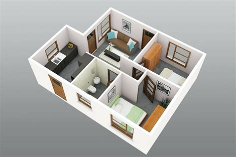 small 2 bedroom house plans 2 bedroom small house plans 3d