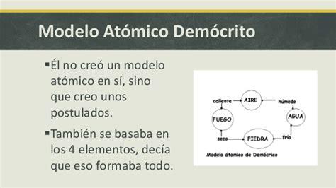 modelo atomico de democrito modelo at 243 mico dem 243 crito