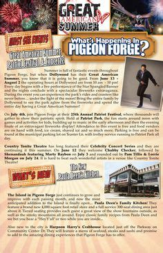 Pigeon Forge Calendar Of Events Smoky Mountain Adventure Tours Experience The Smokies