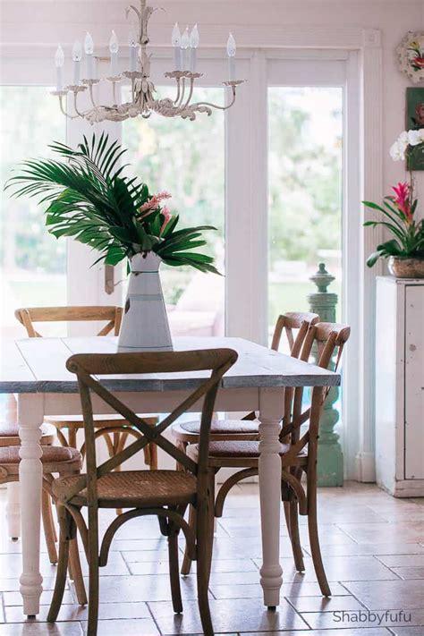 modern tropical dining room decor update shabbyfufucom