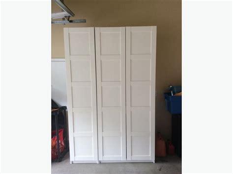 Ikea Stand Alone Wardrobe Ikea Pax Wardrobe System Quot Stand Alone Quot Malahat Including Shawnigan Lake Mill Bay