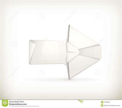 how to make a origami arrow origami arrow royalty free stock image image 27589266