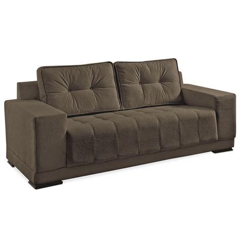 3 in 1 sofa sof 225 3 lugares p 233 tabaco super suede chocolate vigo