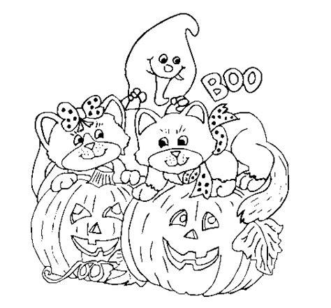 imagenes de juegos para halloween dibujo de halloween para colorear dibujos net