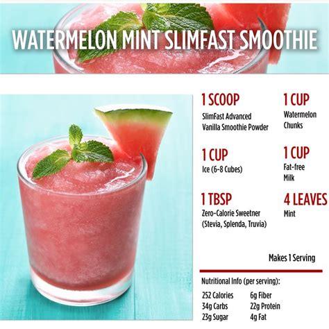Slim Detox Smoothie Recipes by Best 25 Slim Fast Shakes Ideas On Breakfast