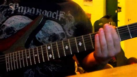 five finger death punch guitar tuning 5fdp mama said knock you out guitar cover youtube