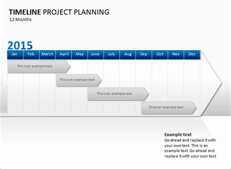 project timeline template timeline template for powerpoint project