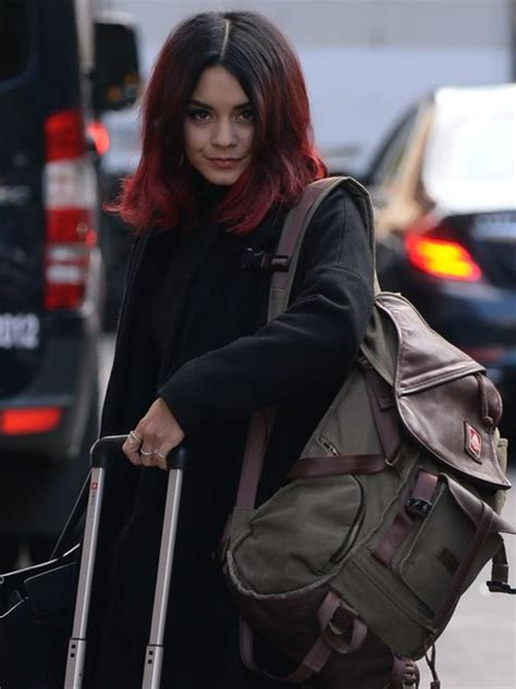 vanessa hudgens dyes her hair red breaking news and martine mccutcheon has made a drastic change to her