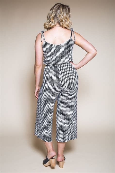 jumpsuit pattern dress sallie jumpsuit maxi dress pattern closet case patterns