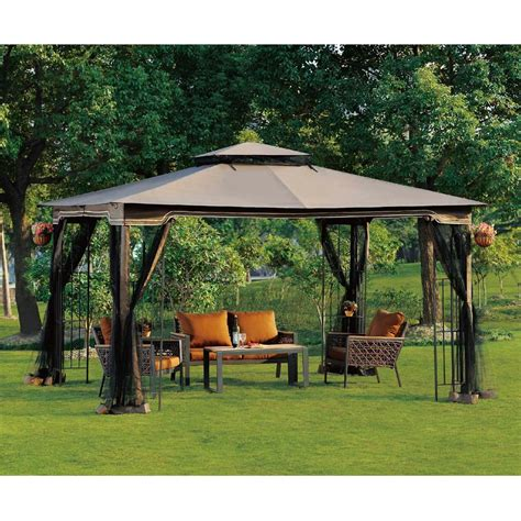 canopy backyard 11 wonderful backyard gazebos well done stuff