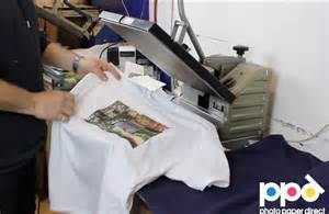 How To Make T Shirts With Transfer Paper - start your own t shirt printing business using heat press