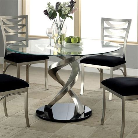 round glass dining room table modern glass dining room tables dining room great modern