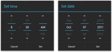 timepicker android get holo timepicker in android l stack overflow