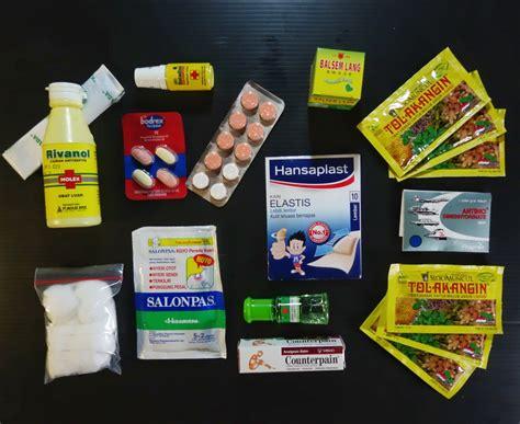 Obat Obatan P3k liburan akhir tahun dengan p3k anak keluarga prosehat