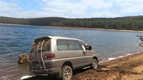 mitsubishi delica off road western australia perth 4x4 off road trip mitsubishi