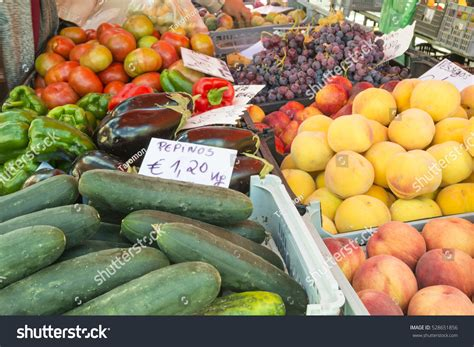 vegetables to europe vegetables fruits market coimbra portugal europe stock