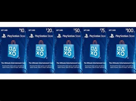 Ps3 Store Gift Card - playstation store gift card 50 youtube