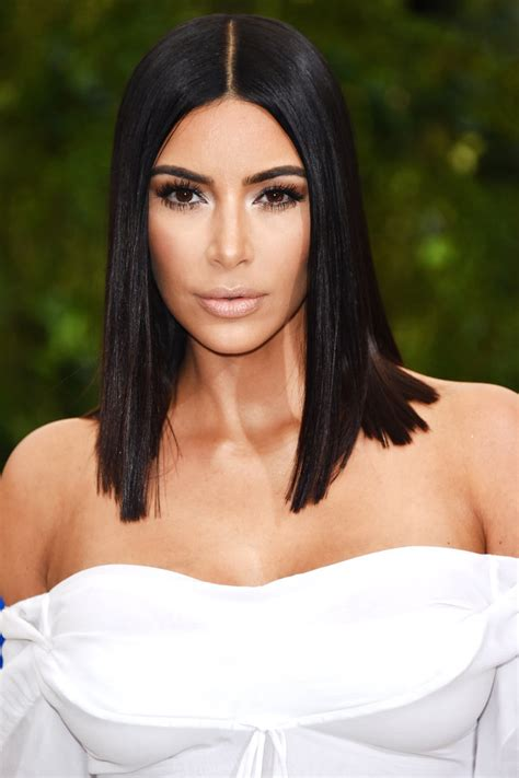 Home Decor Victoria by Kim Kardashian Met Gala 2017 Sleek Lob Instyle Com