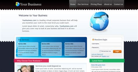 xhtml templates free 101 high quality css and xhtml free templates and layouts