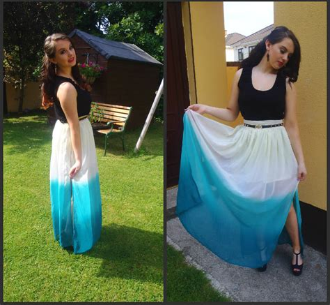 aisling cox primark maxi skirt new look black vest