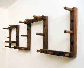 canoe thru block coat rack