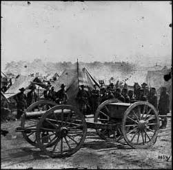 Howitzer captured during peninsular campaign weapons of civil war