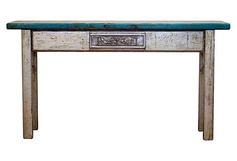 Turquoise Console Table Discover And Save Creative Ideas