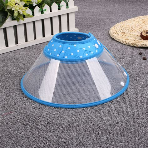 Pet Protection Cover Cone 3 50 Cm pet protect collar mask comfy cone bathing surgery cover anti bite safty ebay