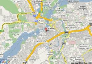 where is ottawa canada located on a map map of radisson hotel ottawa parliament ottawa