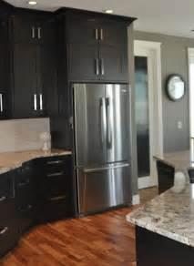 Black Kitchen Walls dark cabinets with gray walls gray kitchen wall kitchen with black