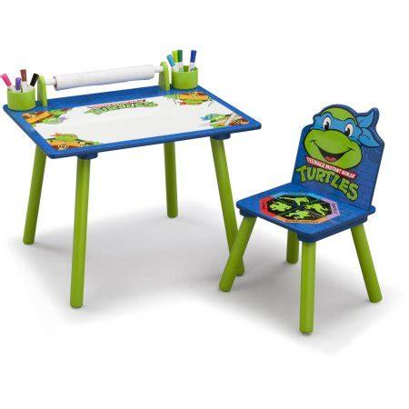 Mutant Turtles Desk by Delta Children Nickelodeon Turtles Desk Walmart