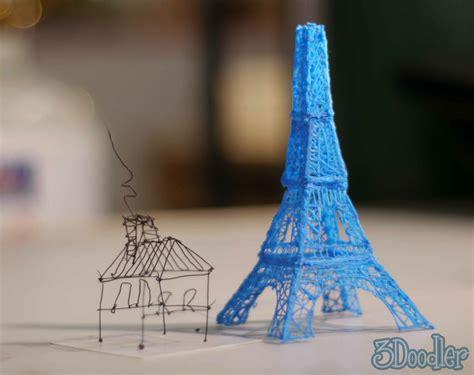 3d doodle pen how much kickstarter caign for 3d printing pen 3doodler raises 2m